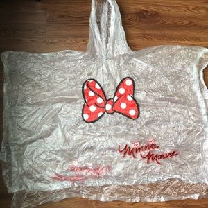 Other - Minnie Mouse Youth Vinyl Poncho